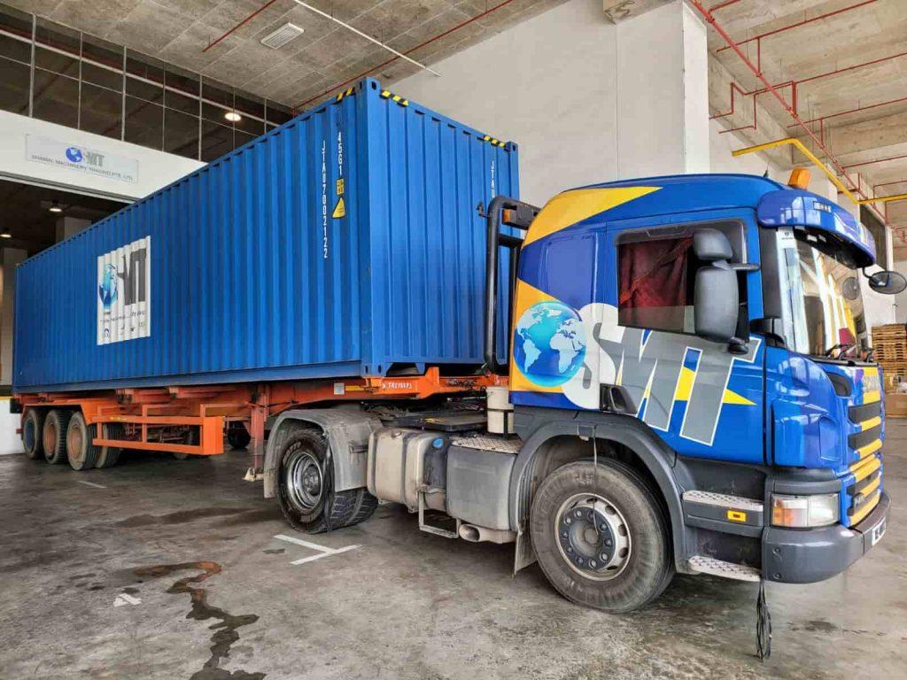Shamal Machinery Trading Cargo Truck